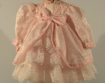 Vintage Dynasty Doll Pink Girl