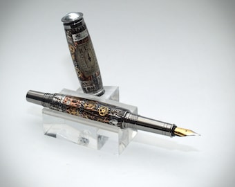 Steampunk fountain pen