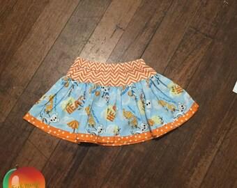 Olaf Twirly Skirt ~ Size 3