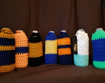 Water bottle cozy cover carrier
