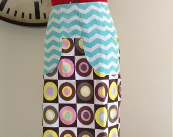 Ladies knee length skirt