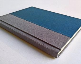 Grey/Dark Blue Notebook Paper Cover