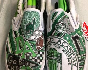 Deerfield Academy Custom Sneakers