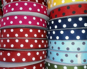 RIBBON GROSGRAIN SANTIN