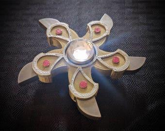 Krull Glaive Deluxe Fidget Spinner - Focus Enhancer - Stress Reducer - Spinning Toy