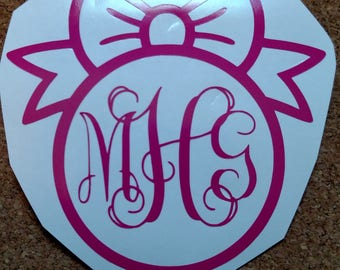 Lilly Pulitzer Print Bow Monogram