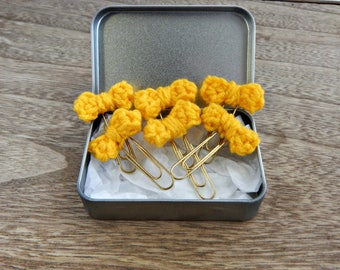 Planner Acessories Pack of 6 Yellow Bows