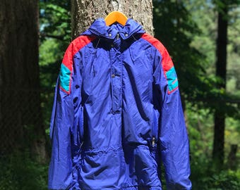 Vintage The North Face Goretex Extreme Jacket Half Zip With Hood Size Men's Small