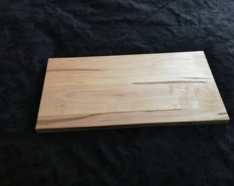 Charcuterie Board / Cutting Board  Wormy Maple