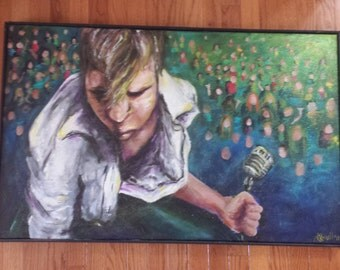 Acrylic Painting - Rockstar
