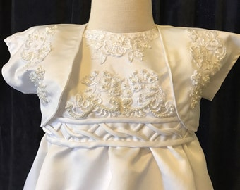 Christening Blessing Baptism Gown Dress for Baby