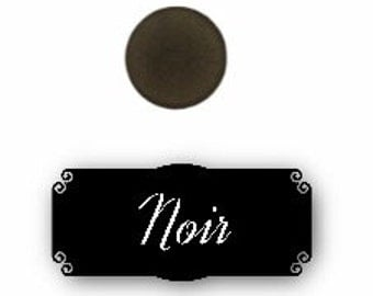 Pressed mineral eyeshadow - Noir