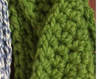 Infinity Earwarmer - Handmade Crochet