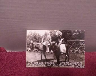vintage real photo postcard