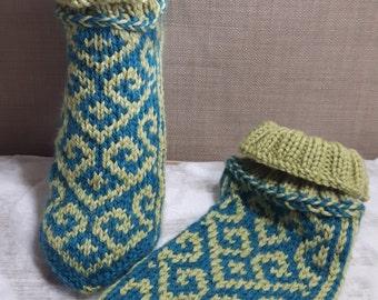 Socks from merino wool