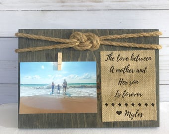 Mother's Day Gift. Mom Frame Mom GIFT from Son Daughter Gift for Mom Mother's Day 2017 First Mother's Day frame