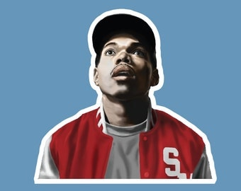 Chance The Rapper 10 Days Sticker
