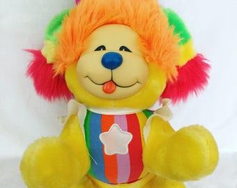 Vintage 1983 Plush Rainbow Brite - Puppy Brite