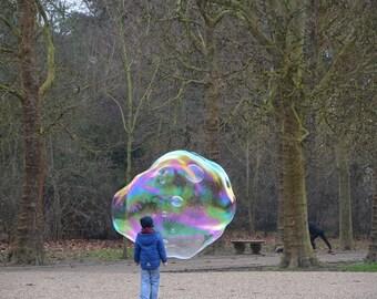 Giant soap bubble  kit - MINI bubble kit / wand-  customise yours ! monstabubbles, huge bubbles, big bubbles, bubble kit, bubble solution