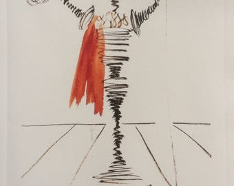 Salvador DALI - recent draw
