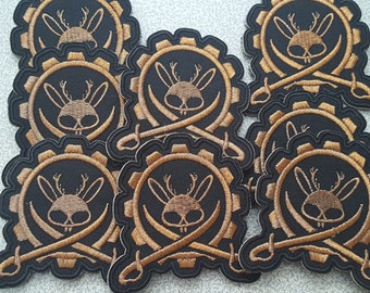 2017 Jackalope Army Pirate Velcro Patch