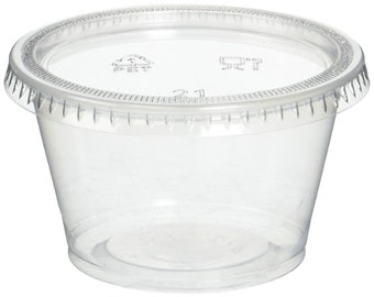 Portion Cup with Lid 4oz (Qty 100)