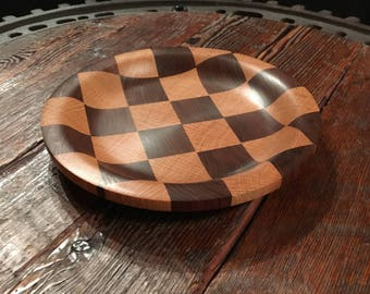 Checkerboard Serving Plate