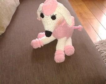 Cute crochet poodle