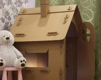 Game houses cardboard * Cardboard playhouse