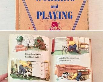 Vintage children's book - 1940's - Ephemera