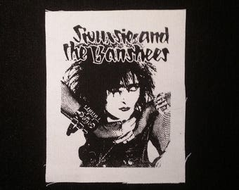 Siouxsie & the banshees patch goth post punk death rock batcave
