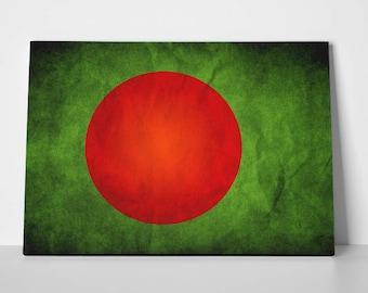 Bangladesh Flag Poster Limited Edition Bangladesh Flag Canvas | Bangladesh Flag Poster
