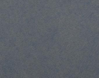 Felt - craft felt grey / grey / blue-grey 1 mm 40 x 45 cm