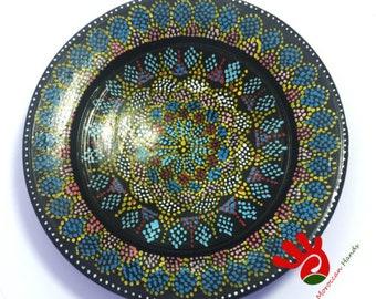 VINTAGE dish - FEZ Moroccan crafts