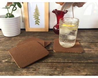 Coaster - Cotton Twill and Cork