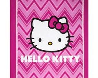 NEw handmade Hello Kitty crib/toddler quilt