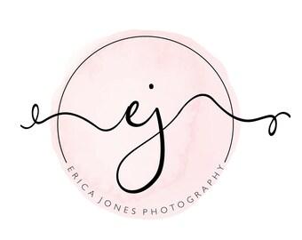 Premade Logo | Logo Design | Watercolor Logo | Makeup Artist Logo | Photography Logo | Event Planner Logo | Watermark | Branding