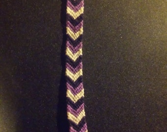 Purple Arrows KEYCHAIN