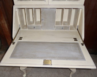 Vintage Bookcase Bureau