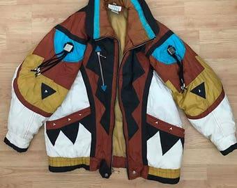 Vintage Native American Style Jacket (Size S)
