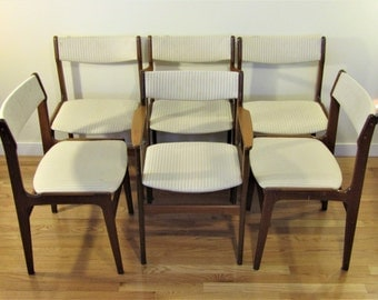 Teak dining chairs Etsy