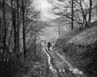 Le village au bout du chemin - Photo, Tirage d'art