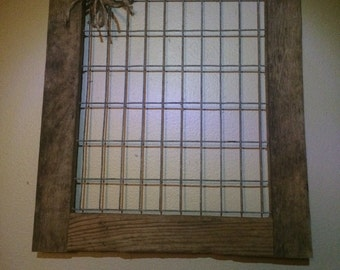 Wire framed memo holder / display Free Shipping