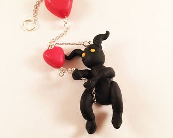 Won't Let Go - Heartless Keychain
