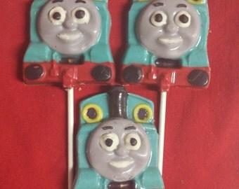 Thomas the Train Chocolate Pops
