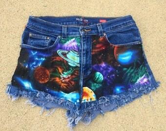 Galaxy High Wasted Shorts