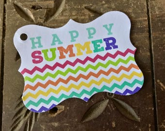 Summer Gift Tag - Happy Summer 1