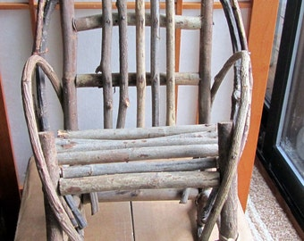 BENT WILLOW Doll Rocking Chair