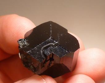 Sharp Terminated Black Tourmaline (Schorl) From Erongo, Namibia