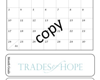 Trades of Hope Mini Business Planner
